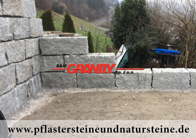 natursteinmauersteine natursteinquader produkte aus granit sandstein und transport b m. Black Bedroom Furniture Sets. Home Design Ideas