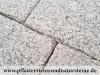 """Antik-Granit-Platten, Speziell, veraltete """"Antik-Platten"""", """"Krustenplatten"""" aus Granit grau, Mittelkorn - die obere Fläche und Kanten geflammt (trocken), Platten für den Garten- und Landschaftsbau, Gehwegplatten, Abdeckplatten, Polygonalplatten, Terrassenplatten, Naturstein aus Polen, unterschiedliche Farben, Formate"""