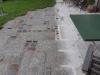 """VARIANTE NR. 2 - NEU MITTELKORN - """"Antikplatten"""", """"Gredplatten"""", """"Krustenplatten"""", veraltete Platten (NUR BEISPIEL - AUF DEM FOTO ALS NASS), Platten nicht nur für den Garten- und Landschaftsbau, Gehwegplatten, Abdeckplatten, Polygonalplatten, Terrassenplatten, rustikale Platten, frostbeständiger Granit aus Polen, Unikat aus Naturstein- Foto von unseren Kunden"""