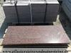 ROTE Granit-Platten, (aus VANGA - ein importiertes, skandinavisches Material) poliert – unterschiedliche Größen/Maßen (NUR BEISPIEL)