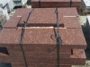 ROTE Granit-Platten, (aus VANGA - ein importiertes, skandinavisches Material) geflammt – unterschiedliche Größen/Maßen (NUR BEISPIEL - AUF DEM FOTO ALS NASS)