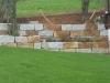 """Antik-Natursteinmauer GRAU-GELB - """"Herbstlaub""""/ Naturstein-Mauer / Granit-Mauer... Granit-Mauersteine, grau-gelb, Mittelkorn, allseitig gespalten (Granit-Mauersteine aus Polen), Mauersteine für eine Natursteinmauer, Polengranit"""