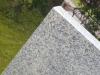 Palisade aus Granit, grau, Mittelkorn, gesägt und geflammt / Granitpfosten / Zaunpfosten aus Granit / Natursteinpfosten / Granitsäulen / Granitpalisaden / Granitstelen (Granit aus Polen), Naturstein aus Polen, Polengranit