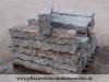 Granit-Randsteine 10x20x60-120 cm (Toleranzgrenze ±2 cm), grau-gelb (zur Zeit nicht erhältlich), Mittelkorn, allseitig gespalten (Granit aus Polen), Naturstein aus Polen, Polengranit
