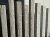 Sonderanfertigung aus Naturstein - Palisaden aus Granit (gesägt-gespalten) / Granitpfosten / Zaunpfosten aus Granit / Natursteinpfosten / Granitsäulen / Granitpalisaden / Granitstelen (grauer Granit aus Polen), Naturstein aus Polen, Polengranit