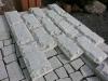 Bosierte Verblender DIESMAL AUS PLATTEN / Bossensteine aus Granit-Platten (grau, feinkörnig)..., Granit aus Polen, Naturstein aus Polen, Polengranit
