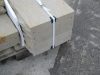 Sandstein-Elemente (Abdeckplatten aus Sandstein, grau-gelb, gesägt-gespalten)..., Sandstein aus Polen