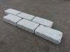 """""""Veraltete"""", getrommelte und zusätzlich geflammte Granit-Pflastersteine (grau, feinkörnig)..., Granit aus Polen, Naturstein aus Polen, Polengranit"""