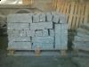 Sonderanfertigung aus Naturstein - Palisaden aus Granit (gespalten) / Granitpfosten / Zaunpfosten aus Granit / Natursteinpfosten / Granitsäulen / Granitpalisaden / Granitstelen (grauer Granit aus Polen), Naturstein aus Polen, Polengranit