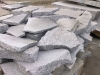 Unregelmäßige Granit-Gartenplatten (grau, feinkörnig)..., Granit aus Polen, Naturstein aus Polen, Polengranit