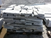 Unregelmäßige Granit-Fassadenplatten für den Garten(grau, feinkörnig)..., Granit aus Polen, Naturstein aus Polen, Polengranit