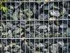 GRÜNER NATURSTEIN - SERPENTIN - Gabionen Mauer/ Mauer aus Gabionen, Ziersteine / Eckige Steine aus Serpentin - Serpentinit für Gabionen (Natursteine aus Polen), Gabionenfüllung, Natursteinmauer, Gabionenzaun, Gabionenmauer, Naturstein für Gabionen, Naturstein aus Polen, Polengranit, Schroppen, Gabionenwand