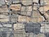 Zurzeit nicht erhältlich - Gabionen Mauer/ Mauer aus Gabionen, Kundenfoto - gemischte Natursteine für Gabionen (Drahtkörbe, Steinkörbe)..., Gabionenfüllung, Natursteine aus Polen, Natursteinmauer, Gabionenzaun, Gabionenmauer, Naturstein für Gabionen, Naturstein aus Polen, Polengranit, schwedische Natursteine, Schroppen, Gabionenwand