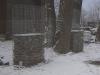 Schiefer für Gabionen - Gabionen Mauer/ Mauer aus Gabionen, Frostbeständige Natursteine (Schiefer) aus Polen für Gabionen… (Natursteine aus Polen), Gabionenfüllung, Natursteinmauer, Gabionenzaun, Gabionenmauer, Naturstein für Gabionen, Naturstein aus Polen, Polengranit, Schroppen, Gabionenwand