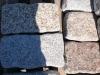 Granit-Mauersteine (rustikal, getrommelt, gerundet und ohne scharfe Kanten)
