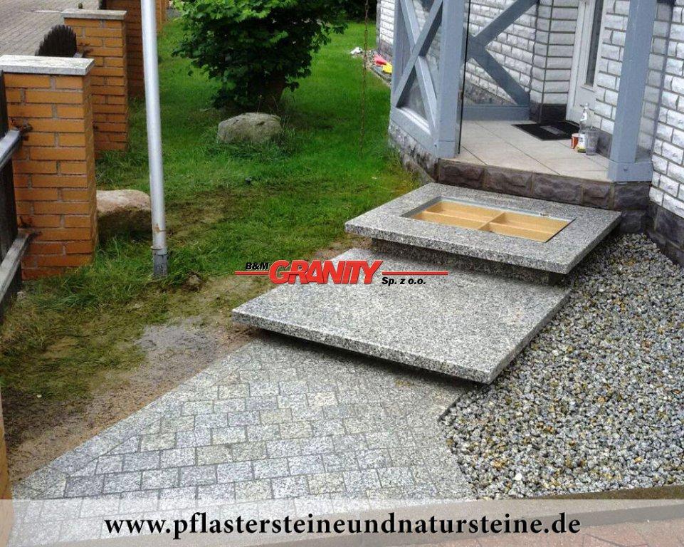 Sonderanfertigung aus Granit - Foto von unseren Kunden (Granit aus Polen)