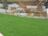 Granit-Mauersteine, grau-gelb, Mittelkorn, allseitig gespalten