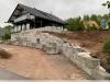 Granit-Mauersteine aus Polen / Naturstein-Mauer / Granit-Mauer / Wasserbausteine, grau, Mittelkorn, gesägt-gespalten (Granit-Mauersteine aus Polen) - Foto von unseren Kunden, Mauersteine für eine Natursteinmauer, Polengranit, preisgünstige Mauersteine und Wasserbausteine