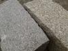 Granit-Mauersteine / Naturstein-Mauer / Granit-Mauer / Wasserbausteine, grau, Feinkorn und Mittelkorn (Granit-Mauersteine aus Polen), Mauersteine für eine Natursteinmauer, Polengranit