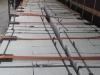 Granit-Mauersteine / Naturstein-Mauer / Granit-Mauer (grau, Mittelkorn). Zwei Flächen - gespalten, vier Flächen – gesägt (Granit-Mauersteine aus Polen) / Wasserbausteine