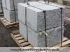Granit-Mauersteine / Naturstein-Mauer / Granit-Mauer / Wasserbausteine, grau, Mittelkorn, gesägt-gespalten (Granit-Mauersteine aus Polen), Mauersteine für eine Natursteinmauer, Polengranit