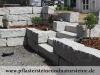 Granit-Mauersteine / Naturstein-Mauer / Granit-Mauer / Wasserbausteine, grau, Mittelkorn, gespalten (Granit-Mauersteine aus Polen), Mauersteine für eine Natursteinmauer, Polengranit - Foto von unseren Kunden, preisgünstige Mauersteine und Wasserbausteine