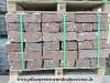 Rote Granit-Mauersteine / Naturstein-Mauer / Granit-Mauer aus skandinavischem Naturstein - Vanga / Wasserbausteine, Mauersteine für eine Natursteinmauer
