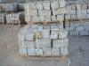 Granit-Mauersteine / Naturstein-Mauer / Granit-Mauer / Wasserbausteine, grau-gelb, Mittelkorn (Granit-Mauersteine aus Polen), Mauersteine für eine Natursteinmauer, Polengranit
