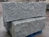 Granit-Mauersteine / Naturstein-Mauer / Granit-Mauer / Wasserbausteine, grau, Mittelkorn, allseitig gespalten (Granit-Mauersteine aus Polen), Mauersteine für eine Natursteinmauer, Polengranit