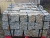 Granit-Mauersteine / Naturstein-Mauer / Granit-Mauer / Wasserbausteine, grau-gelb, Mittelkorn, allseitig gespalten (Granit-Mauersteine aus Polen), Mauersteine für eine Natursteinmauer, Polengranit