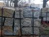 Granit-Mauersteine / Naturstein-Mauer / Granit-Mauer / Wasserbausteine, grau-gelb, Mittelkorn, allseitig gespalten (Granit-Mauersteine aus Polen), Mauersteine für eine Natursteinmauer, Antik Mauersteine, Antik Mauer, Polengranit