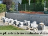 Granit-Mauersteine / Naturstein-Mauer / Granit-Mauer / Wasserbausteine, grau, Mittelkorn, gesägt-gespalten (Granit-Mauersteine aus Polen), Mauersteine für eine Natursteinmauer, Polengranit, preisgünstige Mauersteine und Wasserbausteine