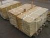 Sandstein-Mauersteine / Naturstein-Mauer / Sandstein-Mauer (grau-gelb), zwei Flächen - gesägt, vier Flächen – gespalten (Sandstein-Mauersteine aus Polen), Mauersteine für eine Natursteinmauer, Polensandstein / Wasserbausteine