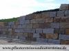 Preisgünstige grau-gelbe Granitmauersteine/ grau-gelbe Granitquader aus Polen, grau-braun-gelbe Granitmauersteine, grau-braun-gelbe Granitblöcke, Herbstlaub-Mauersteine, grau-braune Herbstlaub-Granitquader, gelb-graue Herbstlaub-Granitblöcke aus Polen, grau-gelb-braun Granit-Mauersteine, Referenzobjekt – Naturstein aus Polen, GRANIT-MITTELKORN