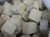 Sandstein-Pflastersteine, Sandstein-Würfen, Natursteinpflaster, grau-gelb, alle Seiten gespalten (Sandstein-Pflastersteine aus Polen), Naturstein aus Polen, Pflastersteine aus Polen, Pflastersteine aus Schweden, Naturstein aus Polen