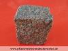 Granit-Pflastersteine, Granit-Würfel, rosa-grau (Bohus - ein importiertes, schwedisches Material) - nass, allseitig gespalten, Naturstein aus Schweden, Granit aus Schweden, Pflastersteine aus Polen, Pflastersteine aus Schweden, Naturstein aus Polen, Granit-Pflaster aus Polen und Schweden