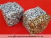 """Granit-Pflastersteine GRAU-GELB - """"Herbstlaub"""", Granit-Würfel, Natursteinpflaster, allseitig gespalten, grau und grau-gelb, Mittelkorn, nass (Pflastersteine aus polnischem Granit... Natursteine aus Polen), Pflastersteine aus Polen, Pflastersteine aus Schweden, Naturstein aus Polen, preisgünstige Pflastersteine, preisgünstige Natursteine aus Polen."""