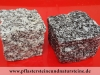 Granit-Pflastersteine, grau, Mittelkorn (nass), allseitig gespalten und Pflastersteine aus Syenit (nass), allseitig gespalten, Granit-Würfel, Syenit-Würfel, Natursteinpflaster (Pflastersteine aus polnischem Granit... Natursteine aus Polen), preisgünstige Pflastersteine aus Polen, Naturstein aus Polen