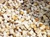 Granit-Pflastersteine, Granit-Würfel, Natursteinpflaster, Polengranit, grau-gelb (s.g. 'Herbstlaub'), mittelkörnig, alle Seiten gespalten (Granit-Pflastersteine aus Polen), Naturstein aus Polen, Pflastersteine aus Polen, Pflastersteine aus Schweden, Naturstein aus Polen, preisgünstige Pflastersteine, preisgünstige Natursteine aus Polen.