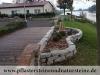 """Granit-Mauersteine getrommelt zurzeit nicht erhältlich - Referenzobjekt… Kundenfoto… getrommelte, veraltete, """"antik"""" Granit-Mauersteine ohne / Naturstein-Mauer / Granit-Mauer scharfe Kanten…"""