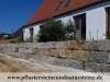 Granit-Mauersteine / Naturstein-Mauer / Granit-Mauer / Wasserbausteine, grau-gelb, Mittelkorn, allseitig gespalten (Granit-Mauersteine aus Polen) - Foto von unseren Kunden, Mauersteine für eine Natursteinmauer, Antik Mauersteine, Antik Mauer, Polengranit, preisgünstige Mauersteine und Wasserbausteine