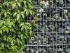 Gabionenstützmauer, Ziersteine / Eckige Steine aus Serpentin - Serpentinit für Gabionen (Natursteine aus Polen)