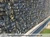 Gabionen Mauer/ Mauer aus Gabionen, Gabionenwand, Natursteinmauer / Gabionensteine (Natursteine aus Polen), Gabionenfüllung, Natursteinmauer, Gabionenzaun, Gabionenmauer, Naturstein für Gabionen, Naturstein aus Polen, Polengranit, schwedische Natursteine, Schroppen, Gabionenfüllung