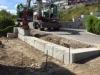 Natursteinmauer (Granitmauer)... Referenzobjekte in der Schweiz… ein kleines Beispiel… (Granit-Mauersteine aus Polen)