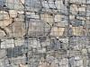 Zurzeit nicht erhältlich - Gabionenstützmauer, Kundenfoto - gemischte Natursteine für Gabionen (Drahtkörbe, Steinkörbe)..., Natursteine aus Polen