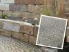Granit, grau-gelb, Mittelkorn (Granit-Mauersteine aus Polen) / Naturstein-Mauer / Granit-Mauer