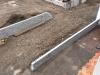 Natursteinmauer (Granitmauer)... Baustelle - gesägt-gespaltene Granit-Mauersteine-Fotos von unseren Kunden (vom oben)..., Granit-Mauersteine aus Polen