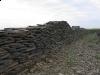 Natursteinmauer, Schiefer-Mauersteine, Schieferplatten, / Naturstein-Mauer / Schiefer -Mauer... Serizit-Schiefer, Mauersteine als Platten (Schiefer aus Polen)