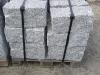 Granit-Mauersteine, grau, Mittelkorn, Natursteinmauer, Granit-Mauer