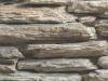 Gneis-Mauer, Natursteinmauer, Gneis – (kleine Mosaikplatten – einseitig gesägt, Stärke – ca. 50 mm, Länge – min. 100 mm)